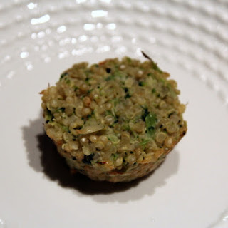 Broccoli-Cauliflower Quinoa Bites