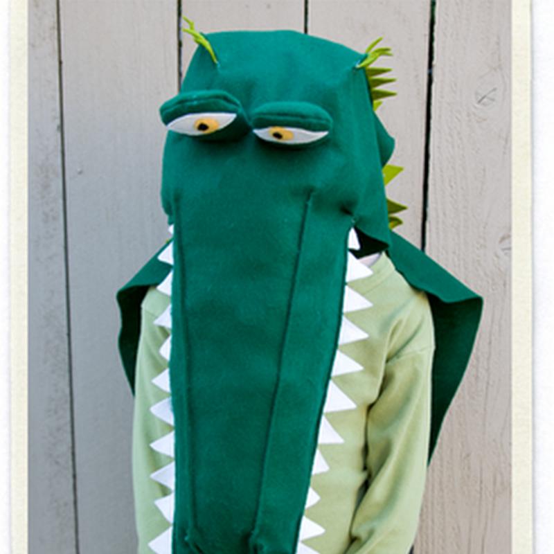 Como hacer un disfraz casero de cocodrilo muy fácil