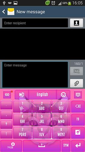 玩個人化App 粉红猫键盘免費 APP試玩