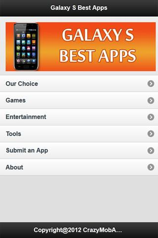 Galaxy S Best Apps- screenshot