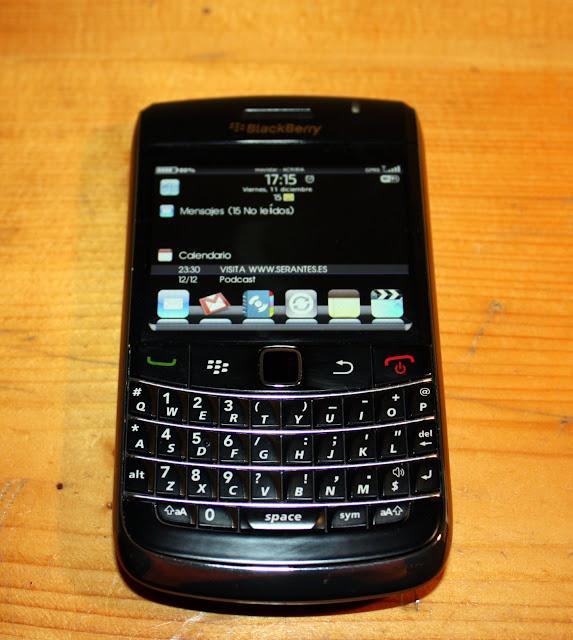 Blackberry 9700 (frontal)