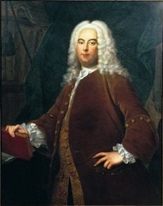 Portrait of Georg Friedrich Händel, circa 1736, from the Thomas Hudson school [Photo from the Foundling Museum, London]