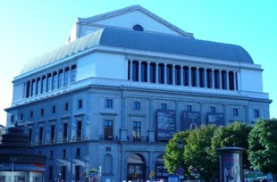Madrid's Teatro Real [photo by the author, 10.2008]