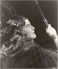 Margaret Harshaw as Brünnhilde in DIE WALKÜRE at the Metropolitan Opera