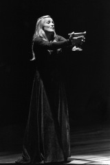 Hildegard Behrens as Isolde at the Metropolitan Opera