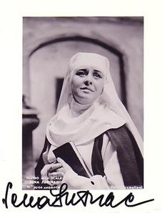 Austrian/Croatian soprano Sena Jurinac as Suor Angelica at La Scala