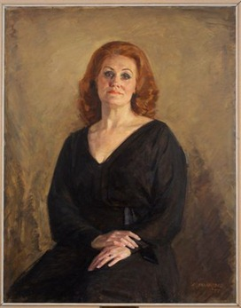 Dame Joan Sutherland; portrait by Robert Annaford