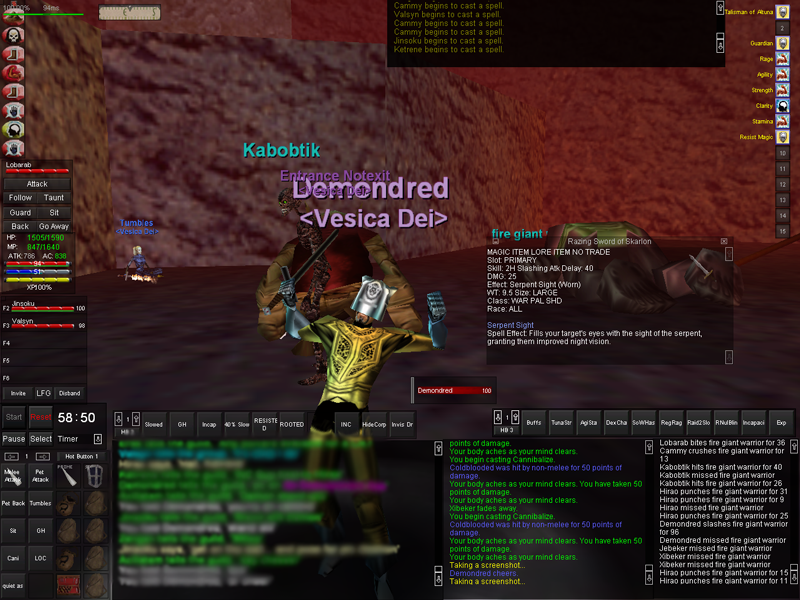 UI Screenshots [Archive] - Project 1999