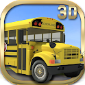 School Bus Driver 3D icon