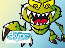 Skype - атака вируса
