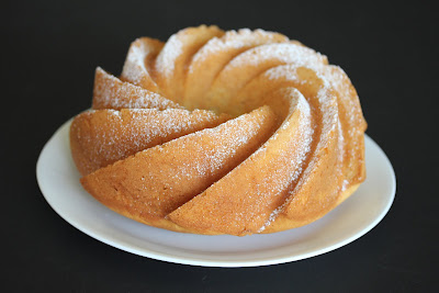 photo of a Heritage Bundt Cake on a plate