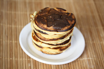Fluffy Holiday Sour Cream Pancakes