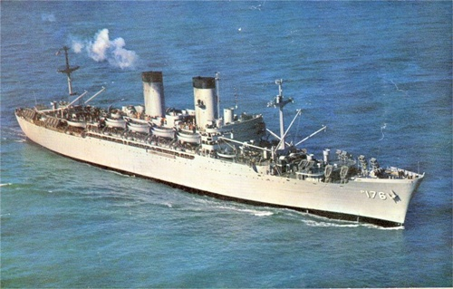 photo of the USS Breckenridge