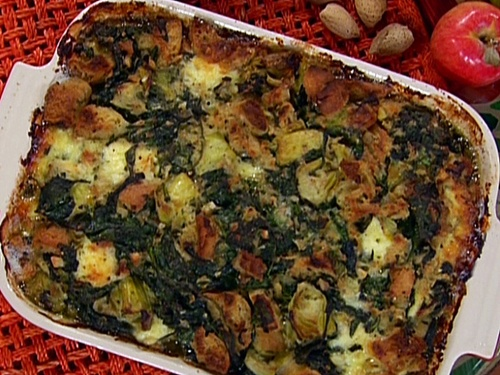 photo of spinach and artichoke dressing