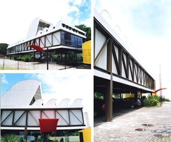 arquitecto lele brasil bajo costo prefabricado hospital.-
