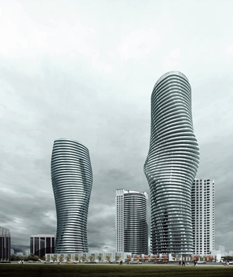 The Absolute Towers Mississauga Canada.