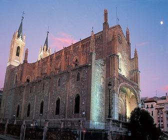 Madrid-Iglesia de los Jerónimos-arquitectura