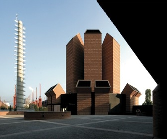 FACHADA-Iglesia-Santo-Volto-Mario-Botta-