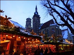 Het is in Stuttgart al lang Kerstmis ...