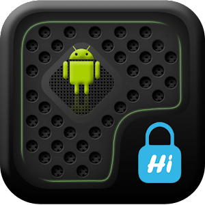 HI AppLock (BlackGrid Theme) 商業 App Store-愛順發玩APP