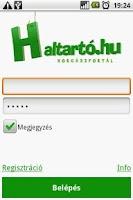 Screenshot of Haltarto.hu