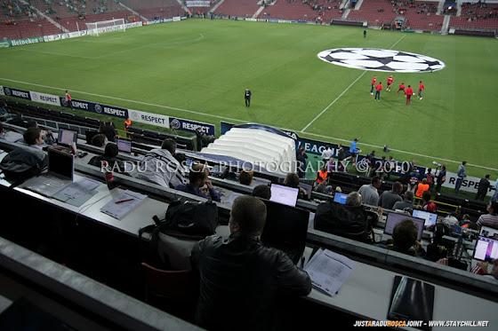 UEFA Champions League 2010/11. CFR Cluj - FC Basel 2-1 // Stadionul, inainte de începerea partidei