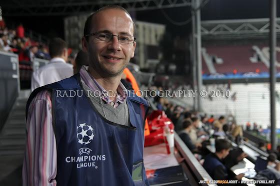 UEFA Champions League 2010/11. CFR Cluj - FC Basel 2-1 // Ionuţ de-abia aştepta începerea partidei