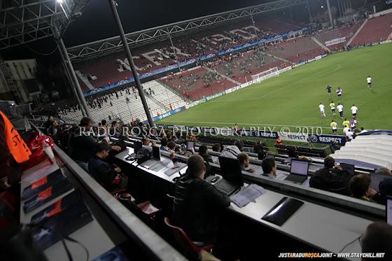 UEFA Champions League 2010/11. CFR Cluj - FC Basel 2-1 // Masa presei