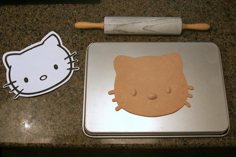 hello kitty mask template - zackis hello kitty template