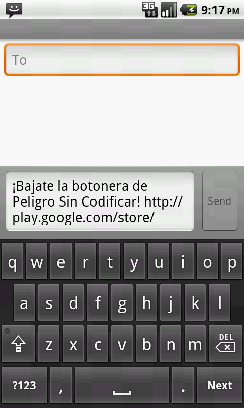Botonera Peligro Sin Codificar - screenshot