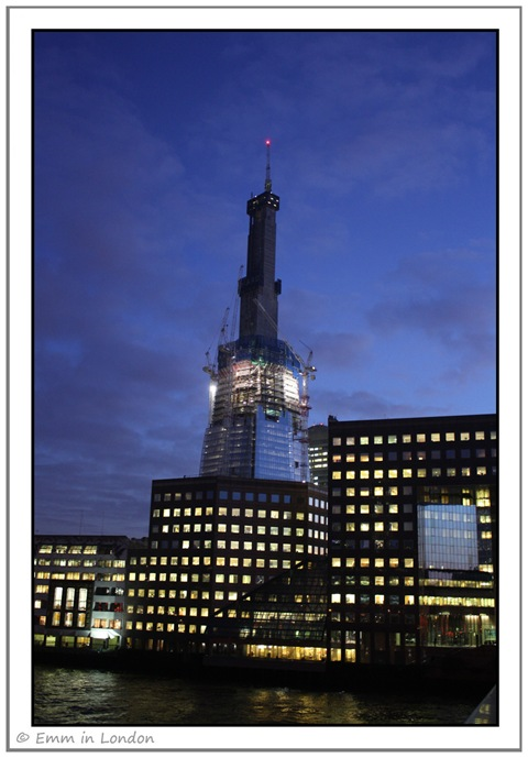 The Shard London Bridge January 2011