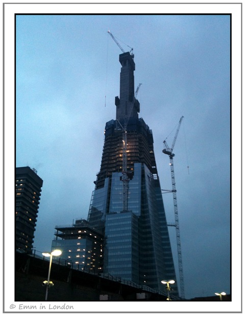 The Shard London Bridge February 2011