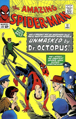Amazing Spider-Man #12, Dr Octopus unmasks Spider-Man