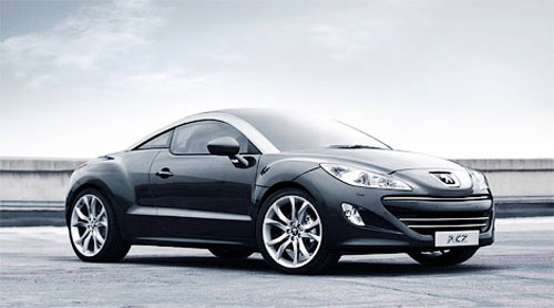 Peugeot has officially presented sportcoupe RCZ