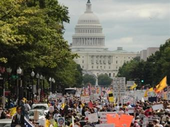 Protest Action In Washington