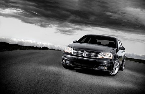Dodge company officially presented updated sedan Avenger