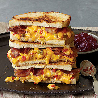 """Some Like It Hot"" Grilled Pimiento Cheese Sandwiches Recipe"
