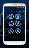 Screenshot of Next Launcher Theme CytronBlue
