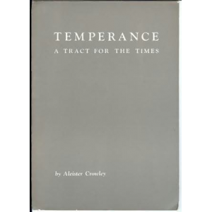 Temperance A Tract For The Times Cover