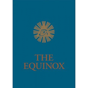 The Equinox Vol Iii No I Blue Equinox Cover