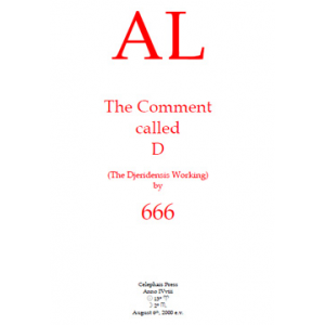 Al The Comment Called D The Djeridensis Working Cover