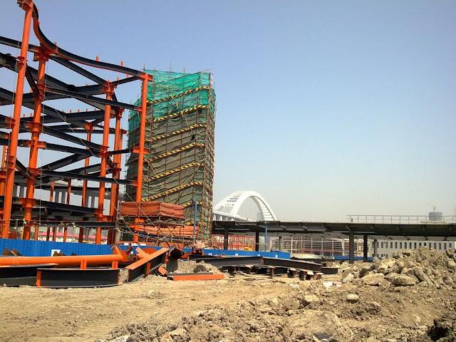 Australia Pavilion's Construction Site | Wangjianshuo's Blog