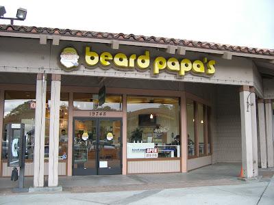 Beard Papa's – mmm cream puffs!