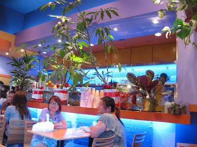 ... With All Of The Fish Tanks, A Glance At Enormous Bowls Of Shaved Ice,  And A Quick View Of The Menu. I Finally Got A Chance To Try Guppy House  Recently.