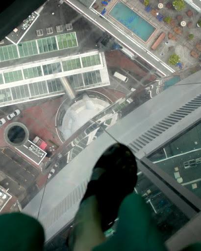 Sky Tower - Widoki z wieży