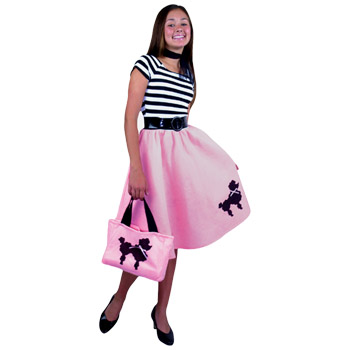 Poodle Skirts If it's not enough to simply dress like you're back in the 50s, then take a minute to learn how to dance like you're in the 50s too! You'll look extra sensational in your poodle skirt costume when you master these popular dance moves from back in the day!