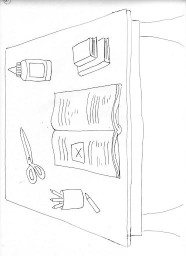 Dibujos Para Colorear Del Aula