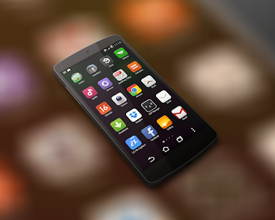MIUI 5 - Launcher Theme - screenshot thumbnail