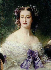 Countess Eugenie de Montijo par Winterhalter, 1853