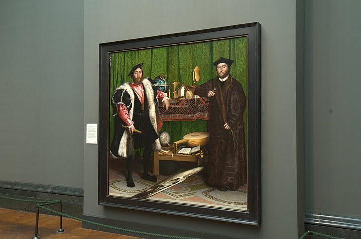 Les Ambassadeurs D Holbein 1533 Sur Canal Educatif Les Paris Dld Visites A Paris Livres Expositions